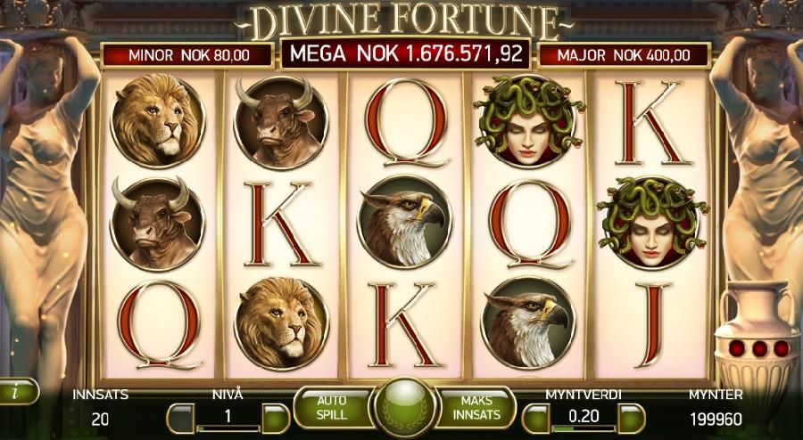 Darmowe automaty do gry Divine Fortune