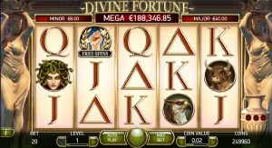 Divine Fortune slots game
