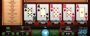 Joker Wild Double Up video poker
