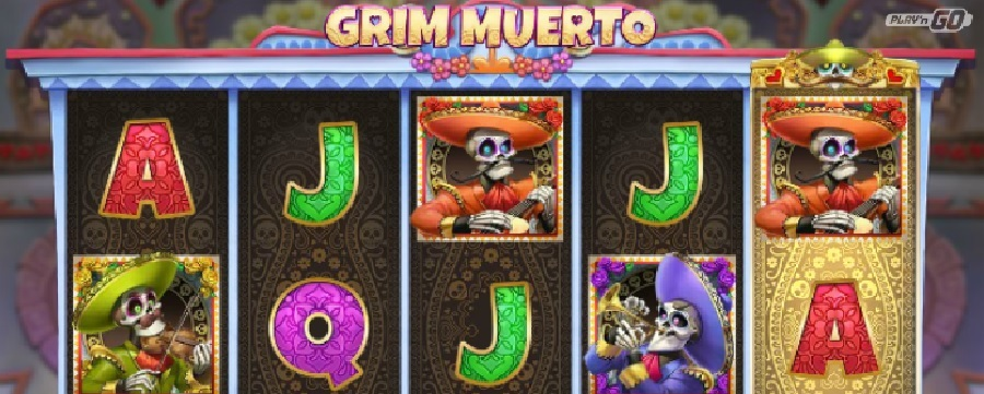 Grim Muerto video slots