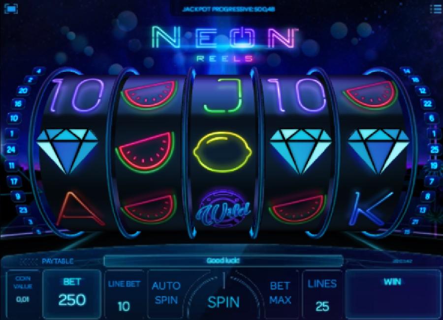 Neon Reels slotowe gry