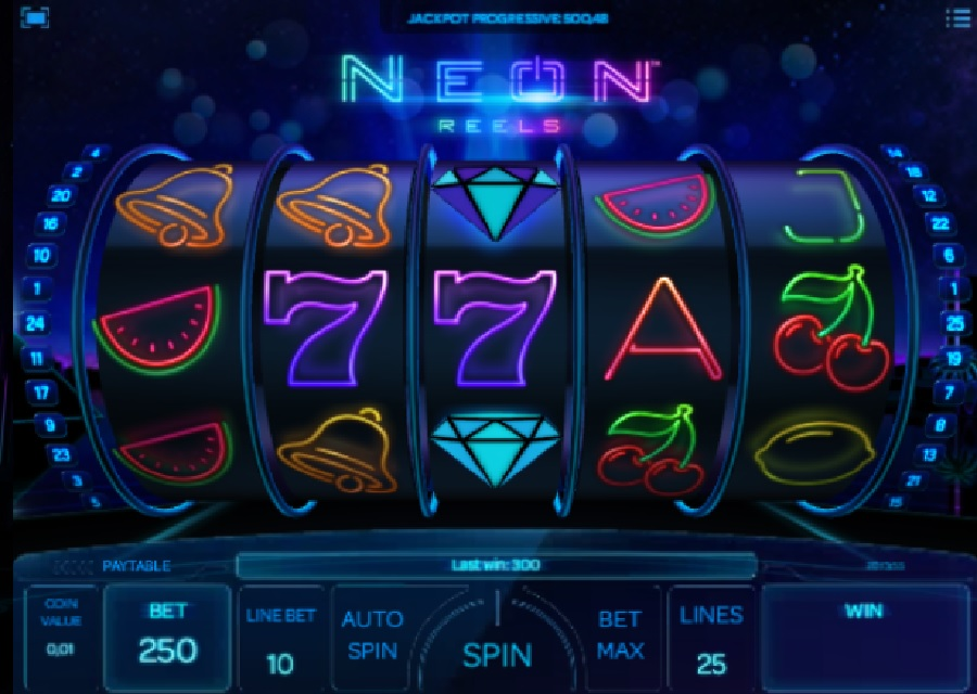 Neon Reels video slots