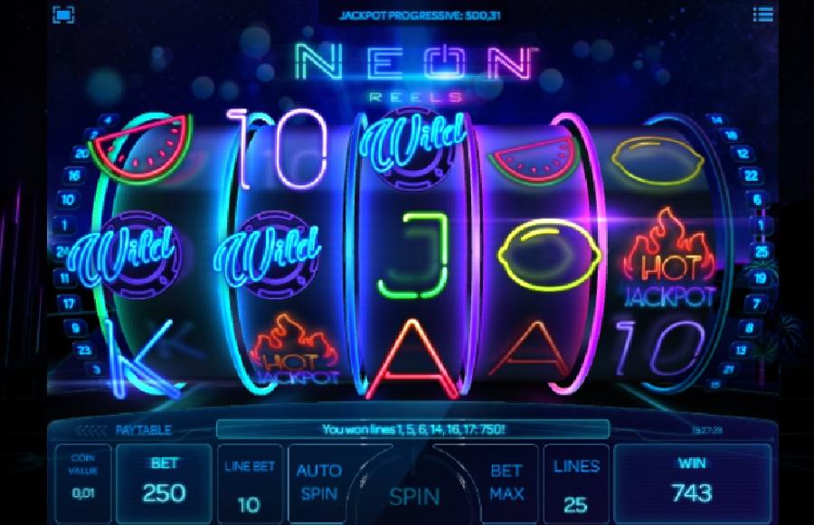 Výherní automaty Neon Reels