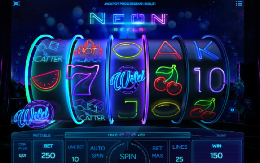 Automaty Neon Reels zadarmo