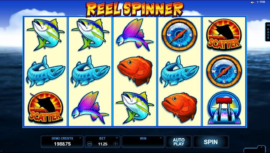 Reel Spinner slotowe gry