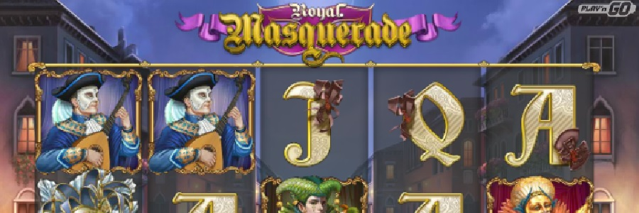 Royal Masquerade video slot