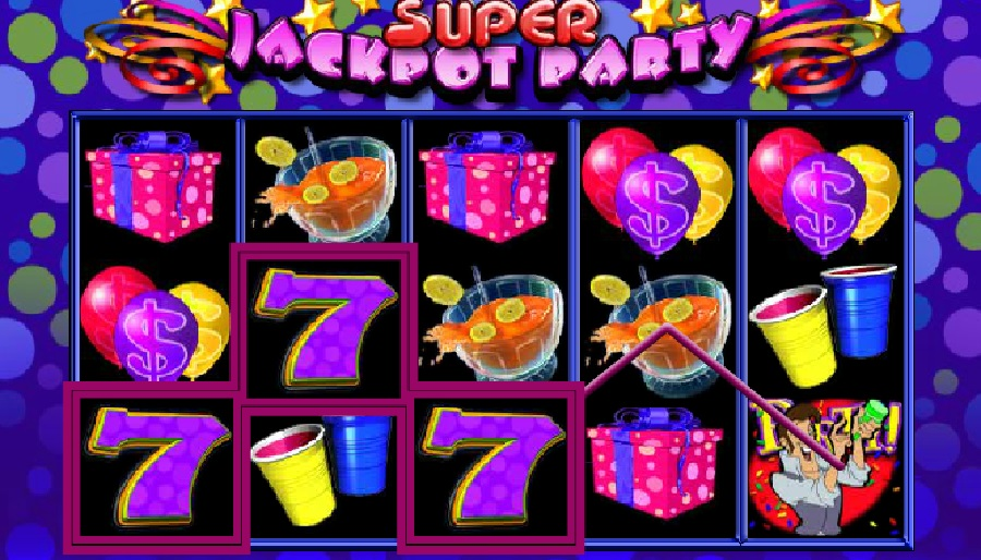 Super Jackpot Block Party video slots