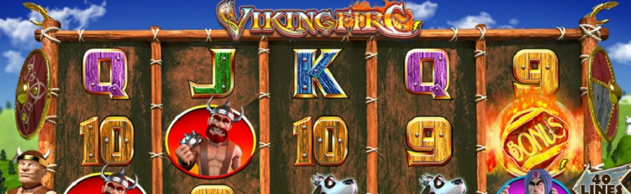 Online automaty do gry Viking Fire