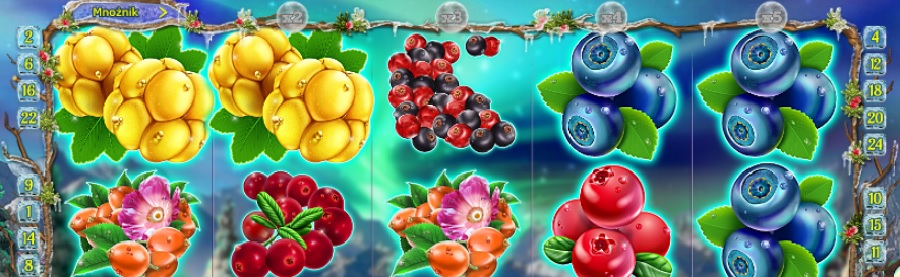 Winterberries video sloty za darmo