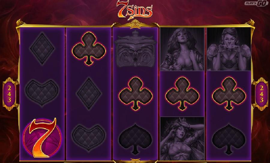 Kasíno hry 7 sins
