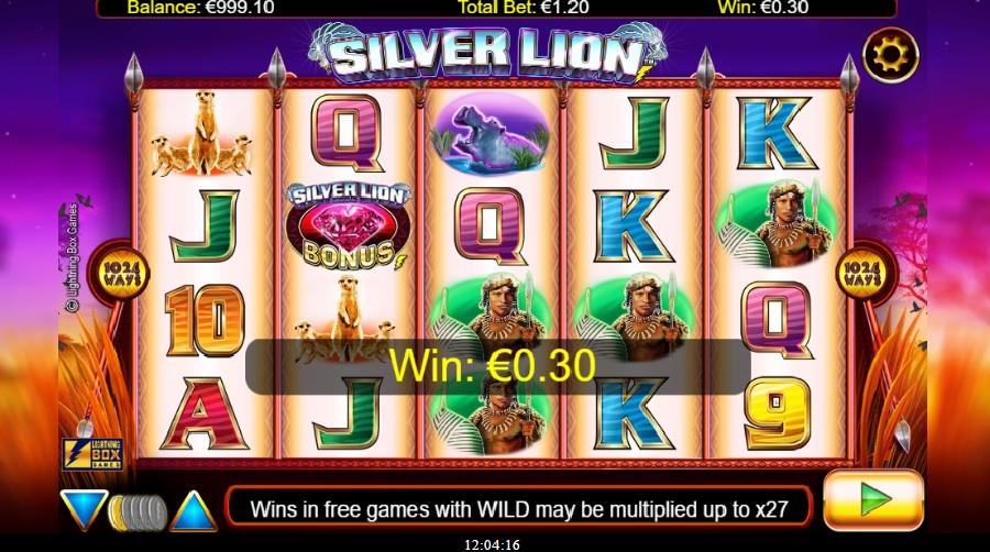 Výherné hracie automaty Silver Lion