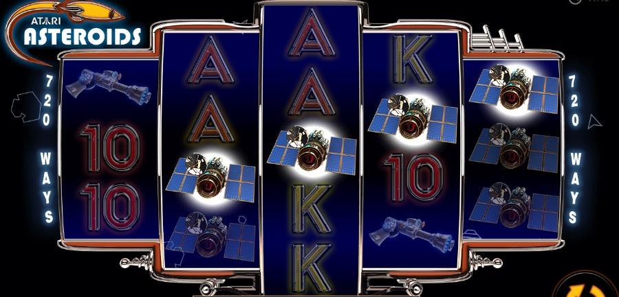 Asteroids Slot norske spilleautomater