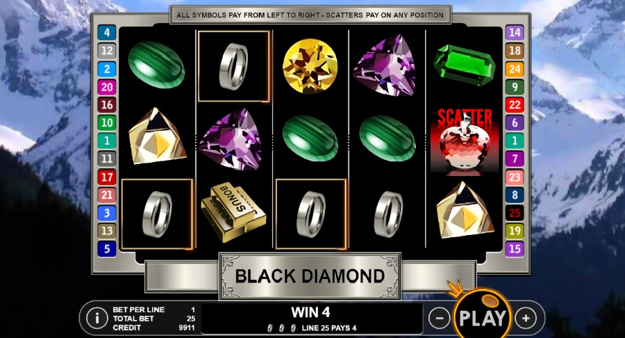 Slot Machines Black Diamond