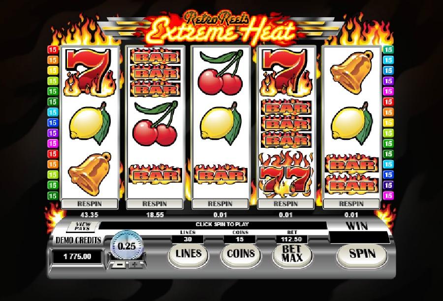 Spielautomat Retro Reels Extreme Heat
