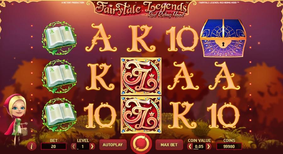 Fairy tale legends kasíno hry zadarmo
