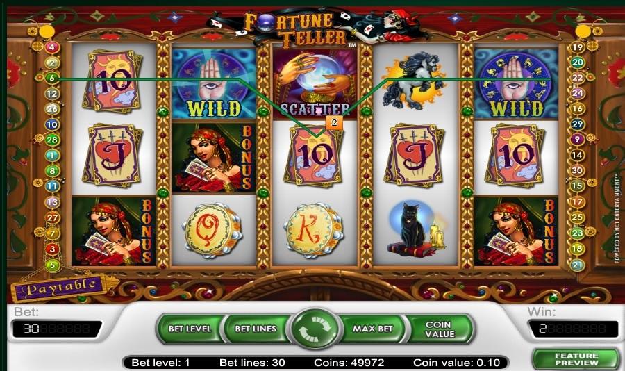 Spielautomat Fortune Teller