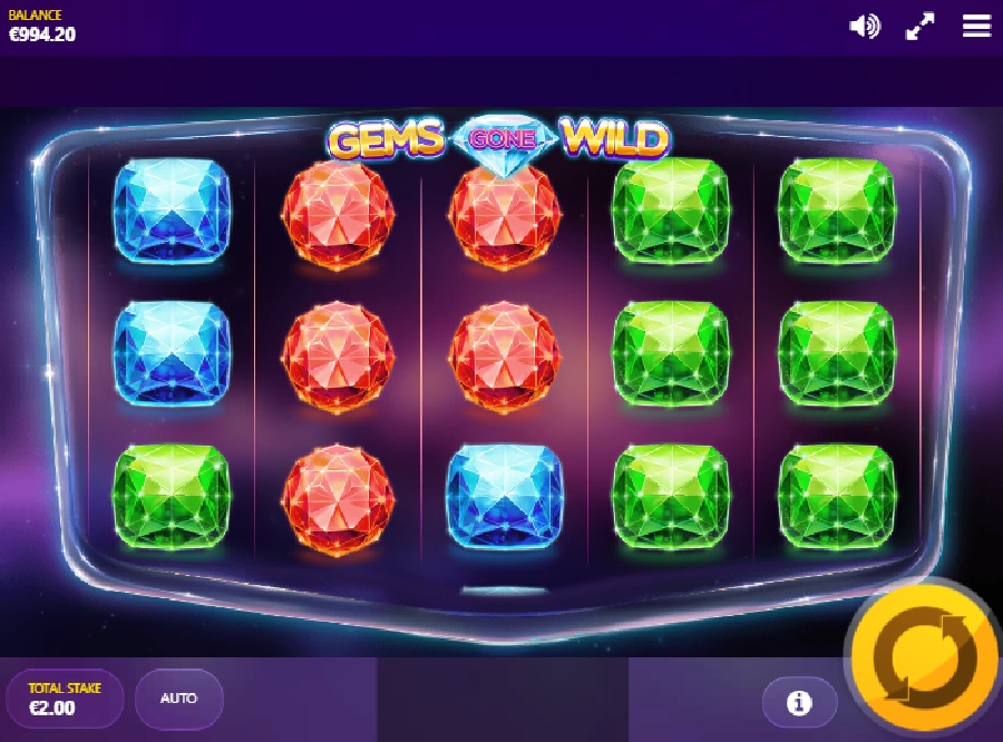 Gems gone Wild online games