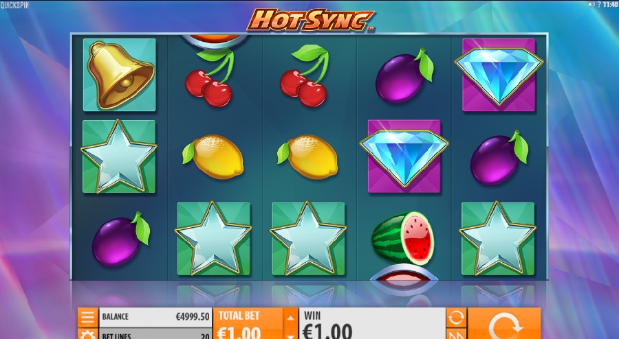 Hot sync free slots