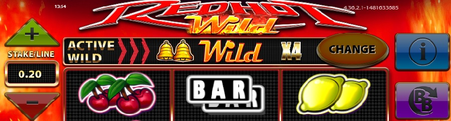 Online slot Red Hot Wilds
