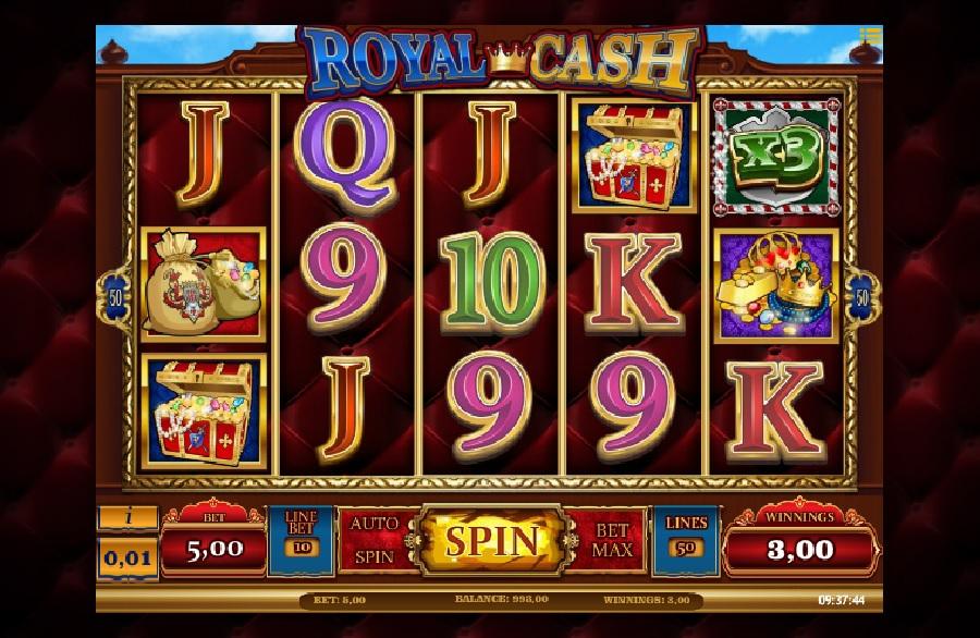 Royal cash automatová hra zadarmo