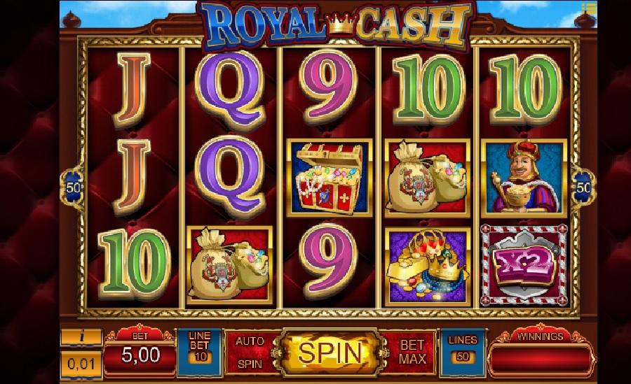 Royal cash online slots