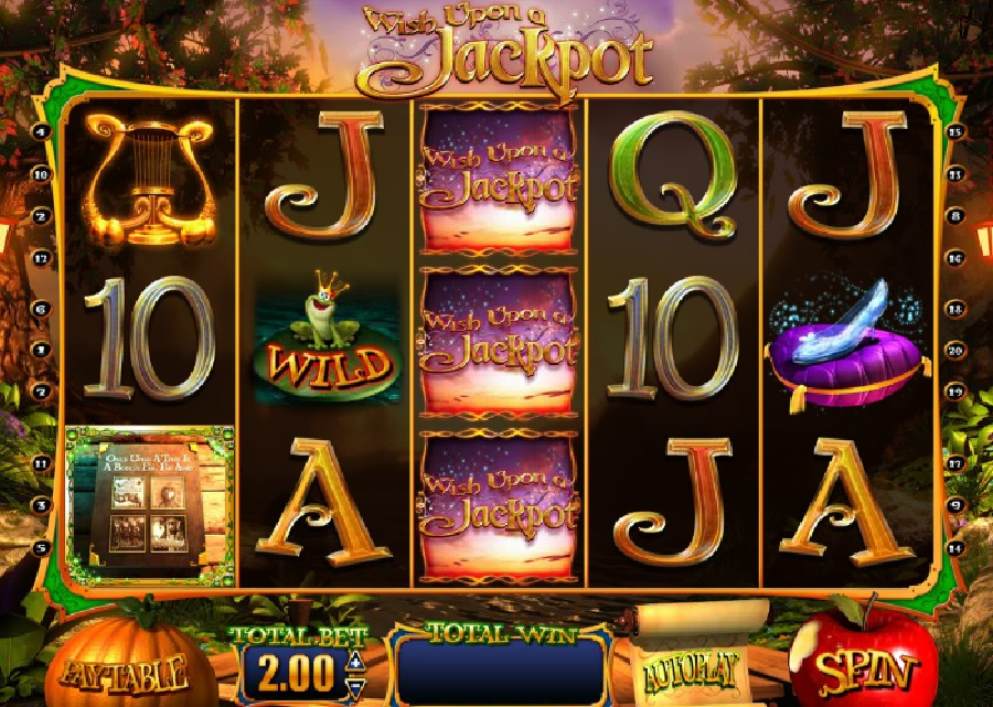 Wish upon a jackpot video sloty