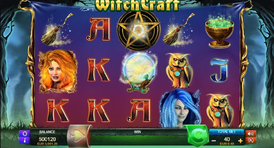Witchcraft online automaty