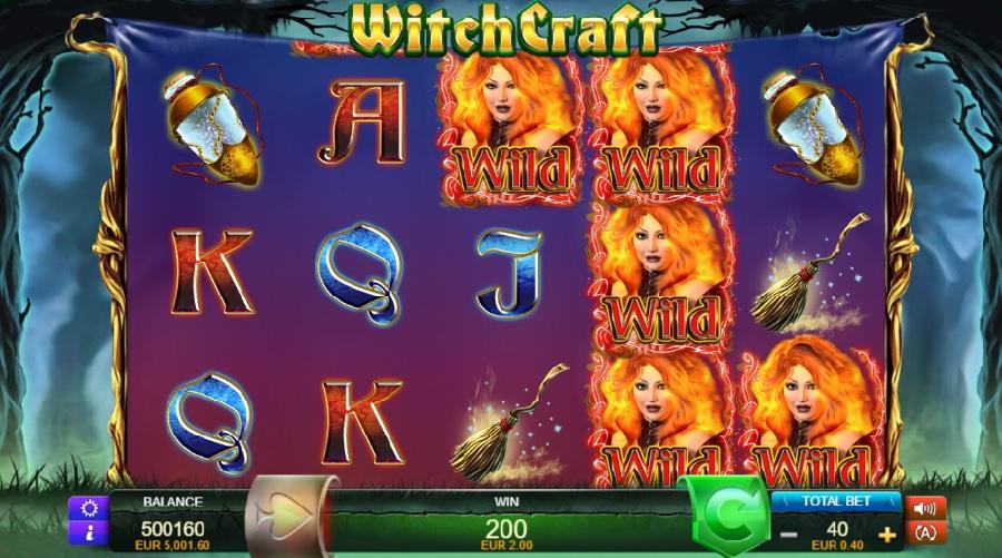 Výherné automaty Witchcraft