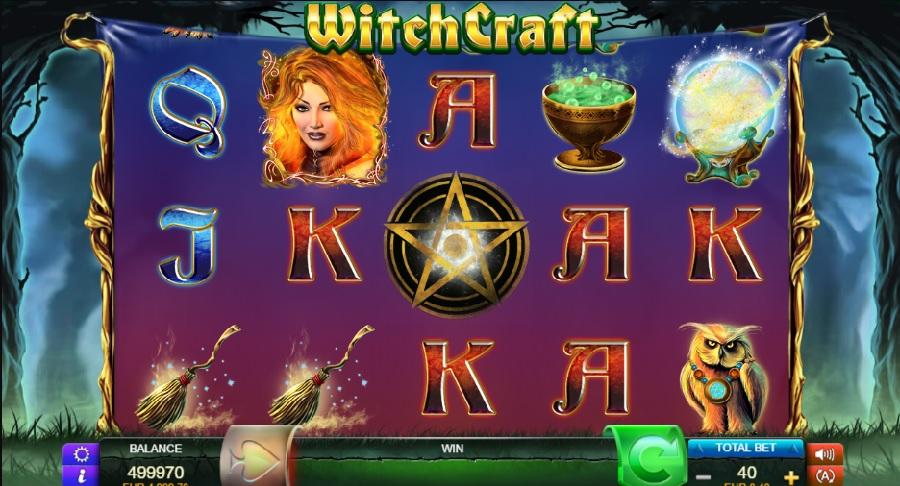 Witchcraft online automaten spelen