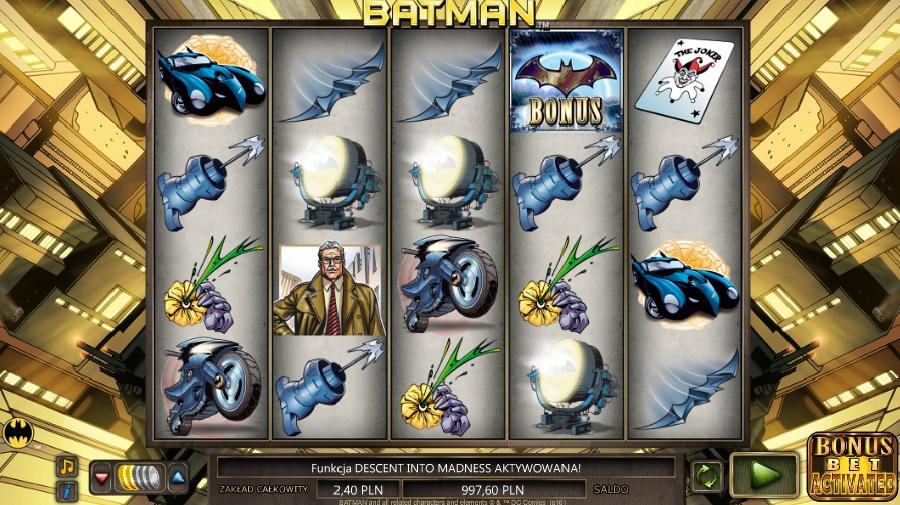 Darmowe automaty do gry Batman
