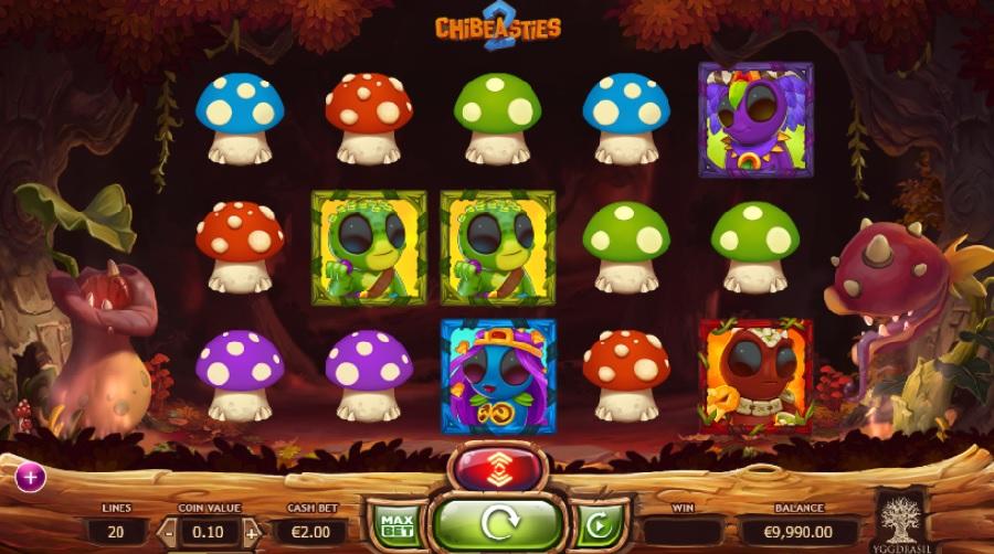 Výherné automaty Chibeasties 2 zadarmo