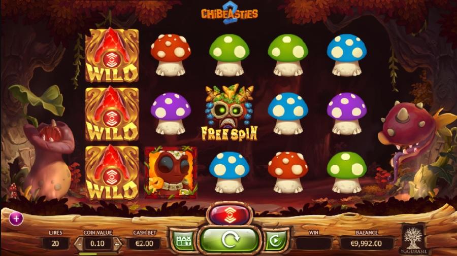 Kasino hry Chibeasties 2 zdarma