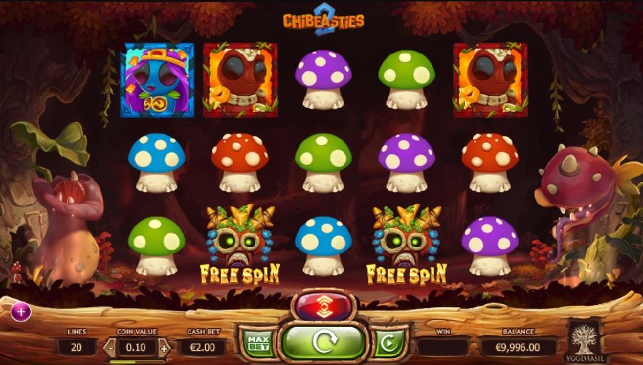 Automaty Chibeasties 2 bez depozitu
