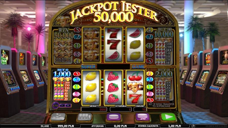 Darmowe automaty Jackpot Jester 50000