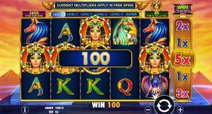 Gratis slot Queen of Gold