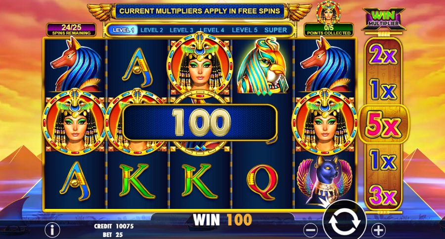 Gratis slot Queen of Gold