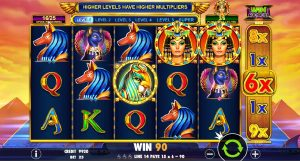 Queen of Gold video automaty zdarma