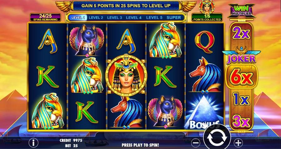 Queen of Gold výherné automaty zadarmo