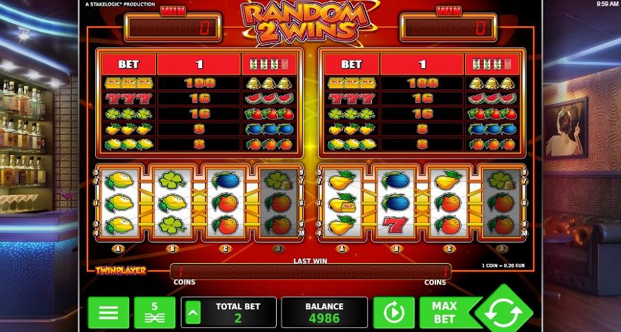 Random 2 Wins výherní automaty