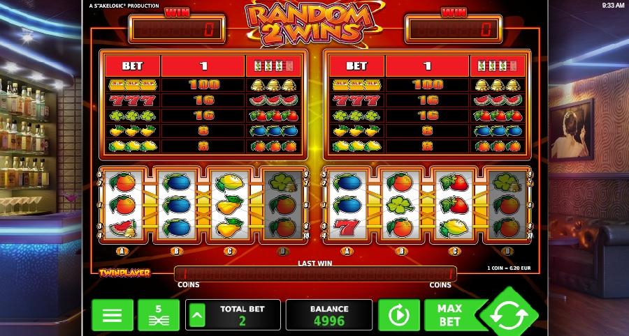 Random 2 Wins online automaty hry