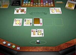 Video poker Triple pocket Hold'em zadarmo