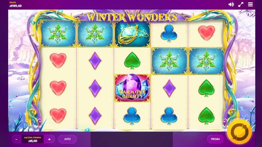 Automaty do gry Winter Wonders za darmo