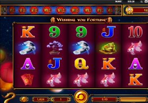 Slot Machines Wishing you fortune