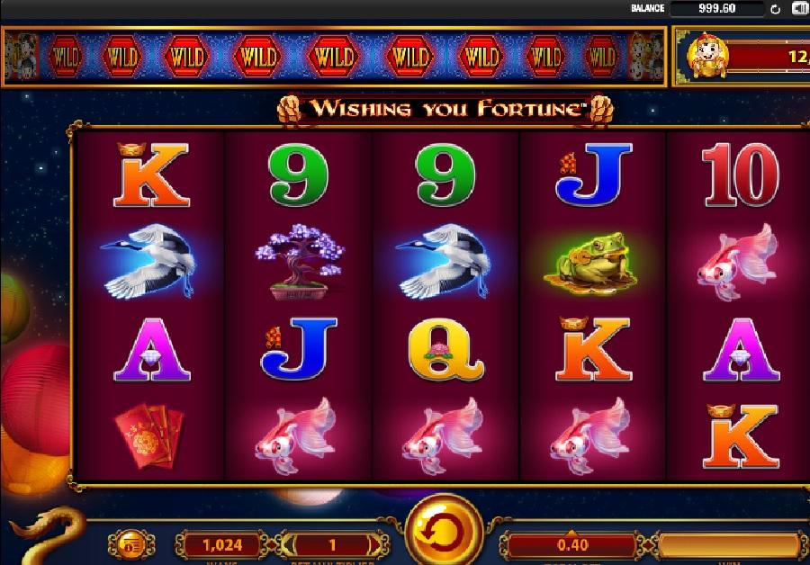 Slot Machines Wishing you fortune