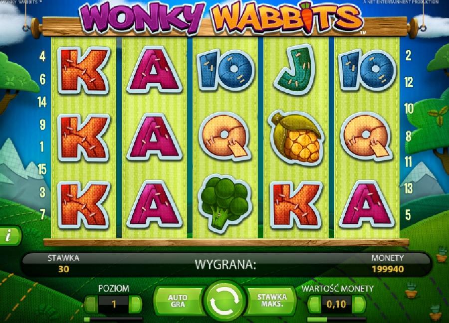 Wonky Wabbits slotowe gry za darmo