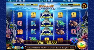 Stellar Jackpots with Dolphin Gold video slots