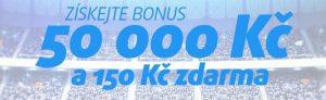 Vstupní bonus 50 000 Kč