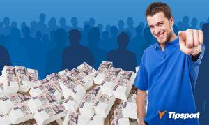 Získejte podíl z patnáctimilionového banku v Tipsportu