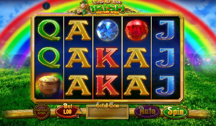 Video Automat Luck O' The Irish Fortune Spins