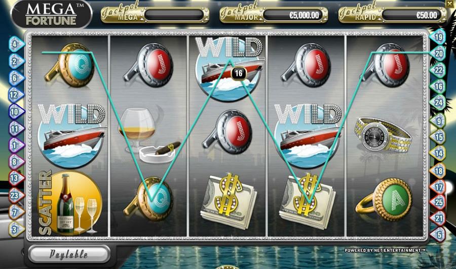 Výherný Automat Mega Fortune